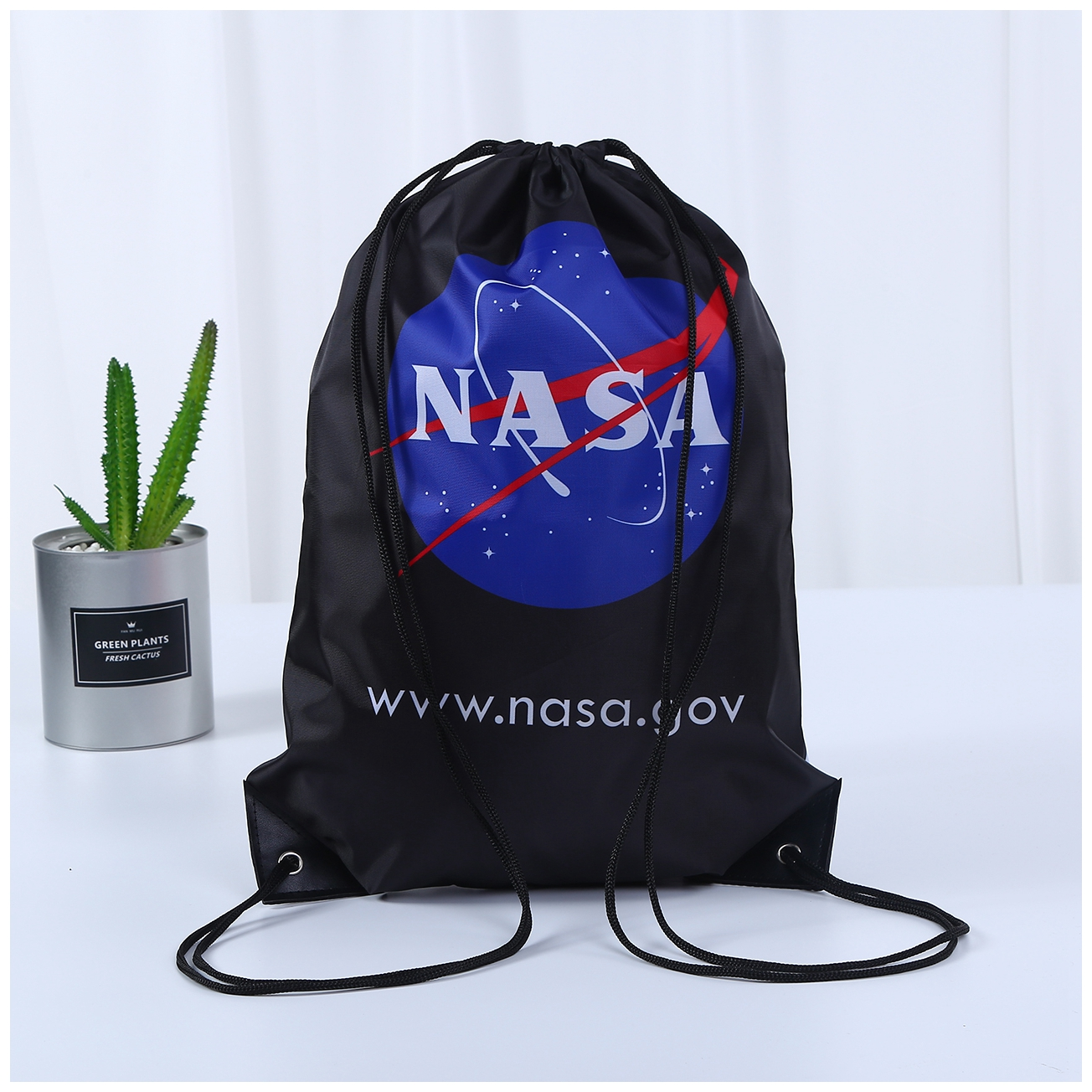 Customized NASA Drawstring Bag