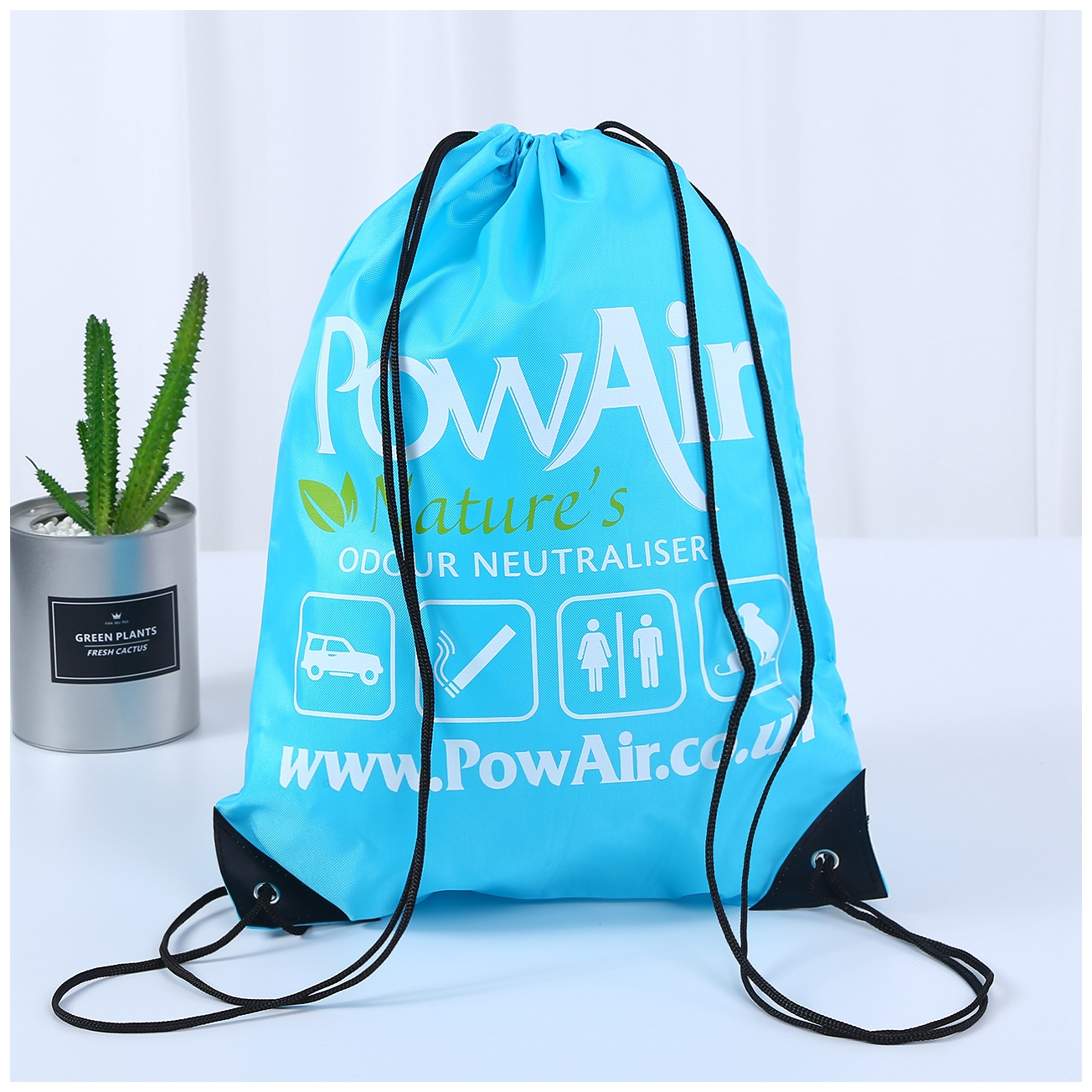 POW AIR 420D Drawstring Backpack